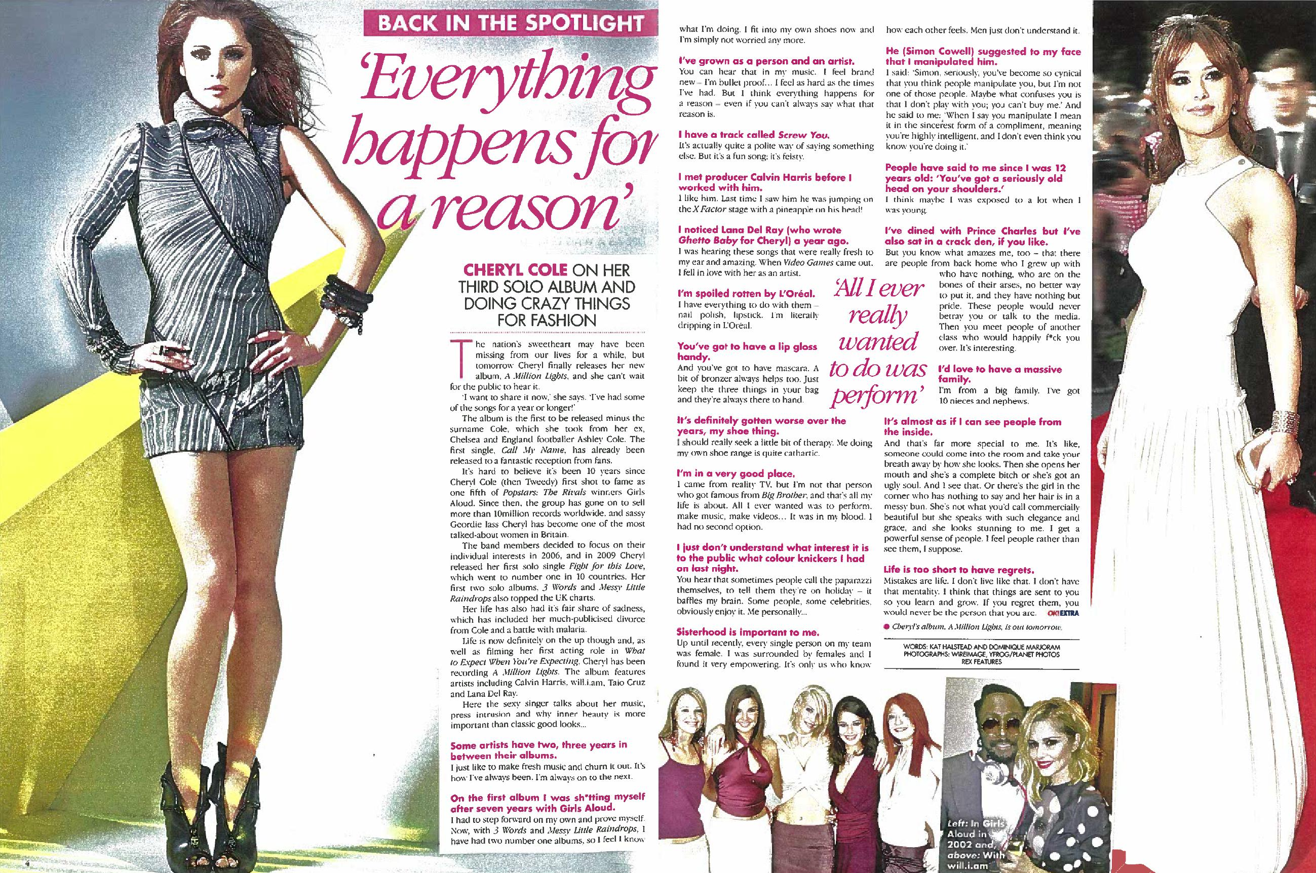 Celebrity interview article example